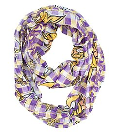 Little Earth NFL® Minnesota Vikings Plaid Infinity Scarf