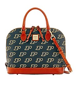 Dooney & Bourke® NCAA® Purdue Boilermakers Zip Satchel