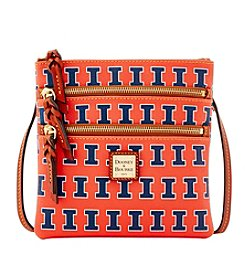 Dooney & Bourke® NCAA® Illinois Fighting Illini Triple Zip Crossbody