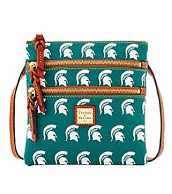 Dooney & Bourke® NCAA® Michigan State Spartans Triple Zip Crossbody