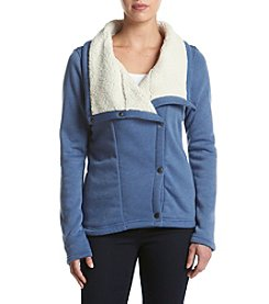 Columbia Asymmetric Zip Sherpa Fleece Jacket