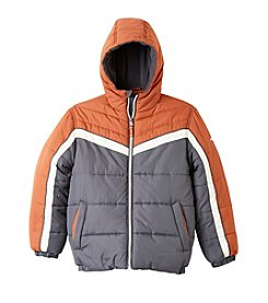 Hawke & Co. Boys' 4-20 Colorblock Puffer Jacket