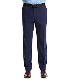 Lauren® Men's Navy Suit Seperates Flat Front Pant