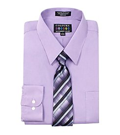 Alexander Julian® Men's Solid Long Sleeve Dress Shirt