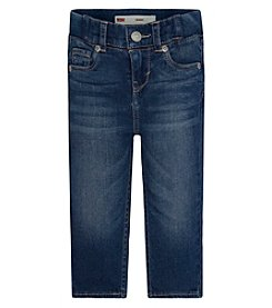 Levi's® Baby Girls' Ribbed Waistband Skinny Jeans