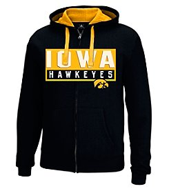 J. America® NCAA® Iowa Hawkeyes Men's Hands Down Full Zip Hoodie