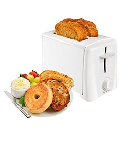 Proctor-Silex® White Automatic Shut Off 2-Slice Toaster