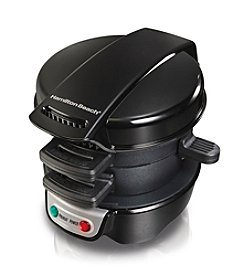 Hamilton Beach® Black Breakfast Sandwich Maker