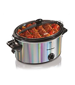 Hamilton Beach® Stay or Go 5-qt. Silver Slow Cooker
