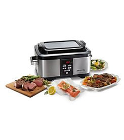 Hamilton Beach® Professional Sous Vide and 6-qt. Stainless Steel Slow Cooker