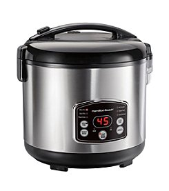 Hamilton Beach® Stainless Steel Rice and Hot Cereal Cooker
