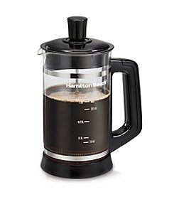 Hamilton Beach® French Press with Cocoa Attachment