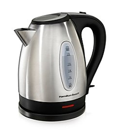 Hamilton Beach® Stainless Steel 1.7-Liter Electric Kettle