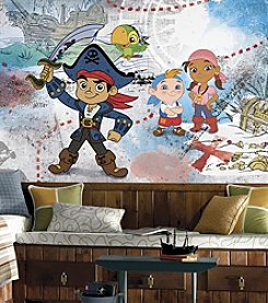 RoomMates Captain Jake & the Never Land Pirates Wall Mural