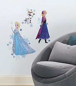 RoomMates Disney® Frozen Anna, Elsa, and Olaf Peel & Stick Giant Wall Decals