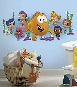 RoomMates Bubble Guppies Character Burst Peel & Stick Giant Wall Decals