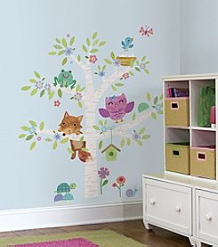 RoomMates Woodland Baby Birch Tree Peel & Stick Giant Wall Decals