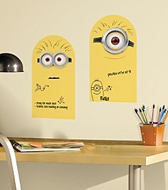 RoomMates Minion Dry Erase Peel & Stick Wall Decals