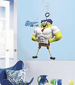 RoomMates The Spongebob Movie Character Peel & Stick Giant Wall Decals