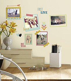 RoomMates BFF Frames Peel & Stick Wall Decals