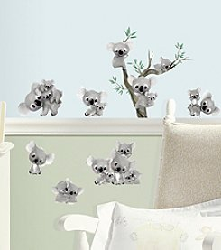 RoomMates Koalas Peel & Stick Wall Decals