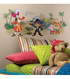 RoomMates Captain Jake & the Never Land Pirates Scene Peel & Stick Giant Wall Graphic