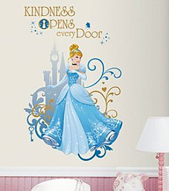 RoomMates Disney Princess® Cinderella Peel & Stick Giant Wall Graphic