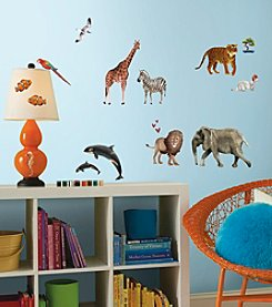 RoomMates Animals of the World Peel & Stick Giant Wall Decals