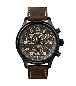 Timex® Men's Expedition Rugged Field Chronograph Watch