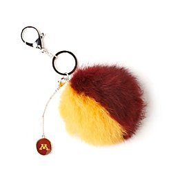 accessory PLAYS™ NCAA® University Of Minnesota Two-Tone Puff Charm Key Ring