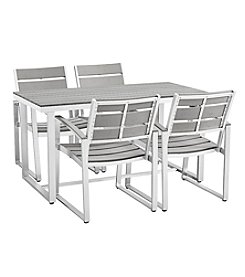 W. Designs All-Weather 5-pc. Dining Set