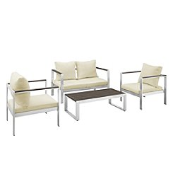 W. Designs 4-pc. Mod Style Chat Set with Cushions