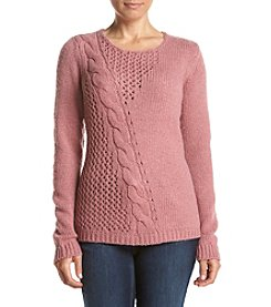 Ruff Hewn Petites' Pullover Sweater