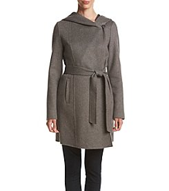 MICHAEL Michael Kors® Double Faced Wool Wrap Coat