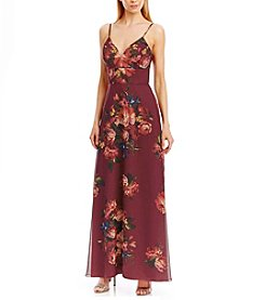 Nicole Miller New York™ Printed Chiffon Gown