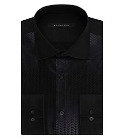 Sean John® Men's Black Long Sleeve Button Down Dress Shirt