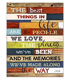 Ruff Hewn The Best Things In Life Wall Art