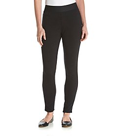 Chaus Solid Ponte Leggings