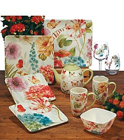 Certified International by Lisa Audit Rainbow Seeds Dinnerware Collection