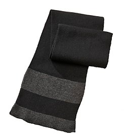 John Bartlett Statements Knit Solid Scarf With Tipping