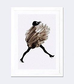 Cold Wind Blows by Judith van den Hoek Framed Fine Art Paper Print