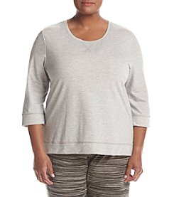 KN Karen Neuburger Plus Size Live Love Lounge Top