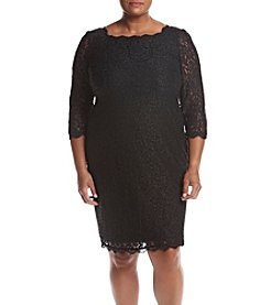 Adrianna Papell® Plus Size Lace Sheath Dress
