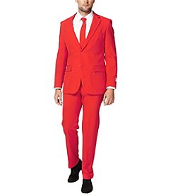 OppoSuits Men's Red Devil Suit
