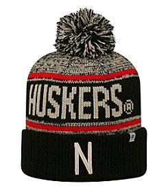 Top of the World® NCAA® Nebraska Cornhuskers Men's Acid Rain Pom Knit Hat