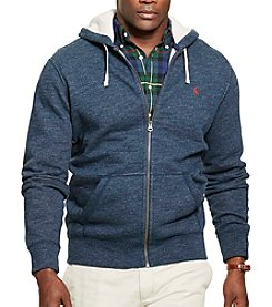 Polo Ralph Lauren® Men's Big & Tall Long Sleeve Full Zip Hoodie