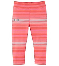 Under Armour® Girls' 2T-6X Blurred Stripe Capri Leggings