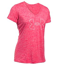 Under Armour® Tech Branded Twist Tee