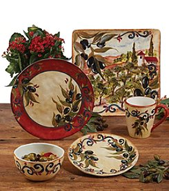 Certified International by Tre Sorelle Studios Umbria Dinnerware Collection