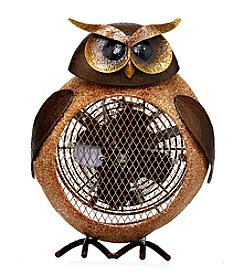 Deco Breeze Owl Heater Figurine Fan